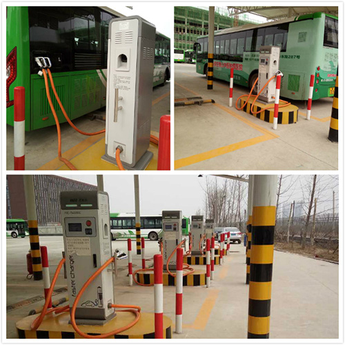 Sicon provides 360KW type EV charger for China Bus company