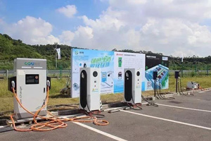 Sicon EV Charger appears in the 2nd Electric Logistics Vehicles Challenge Event